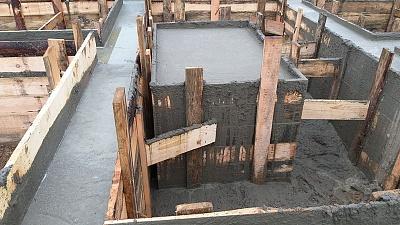 Фундамент под дом цена калькулятор Щелковский район