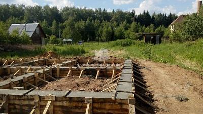Залить фундамент кирпичного дома в Люберцах